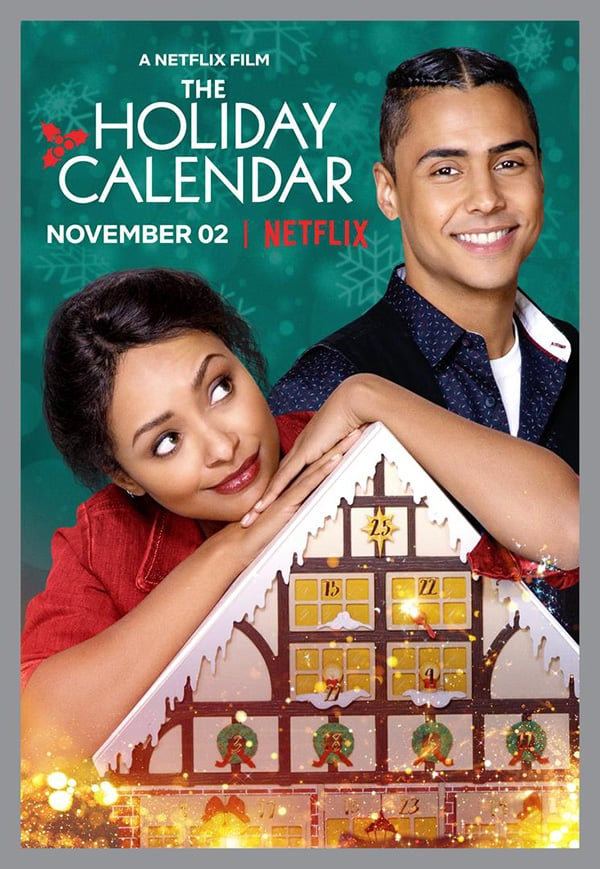 The Holiday Calendar kapak