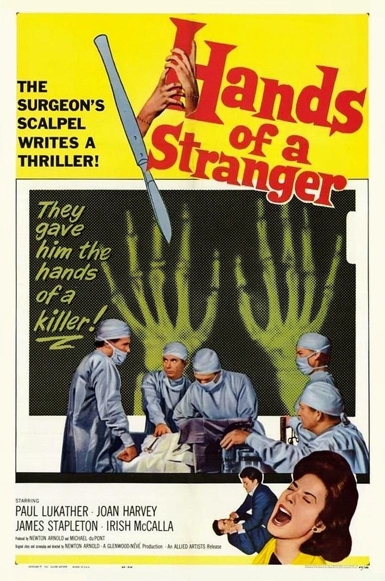 Hands of a Stranger kapak