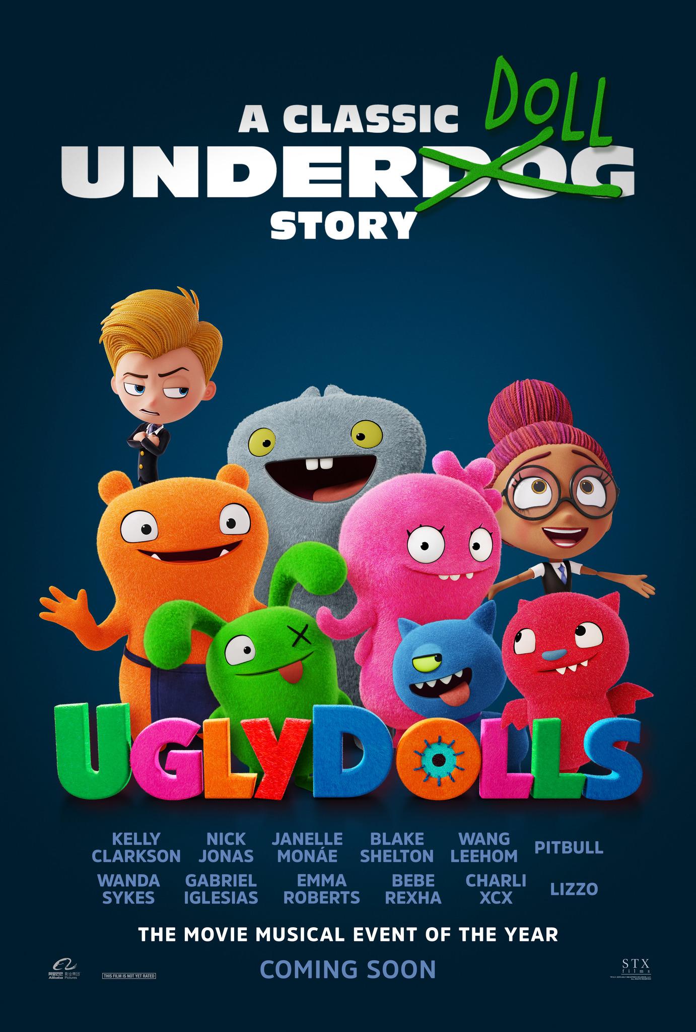 UglyDolls kapak