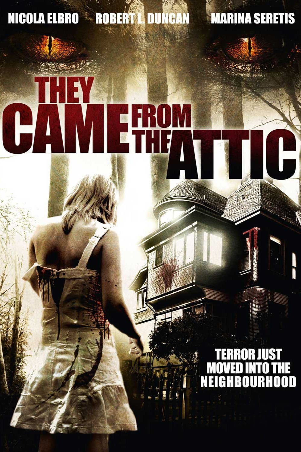 They Came from the Attic kapak
