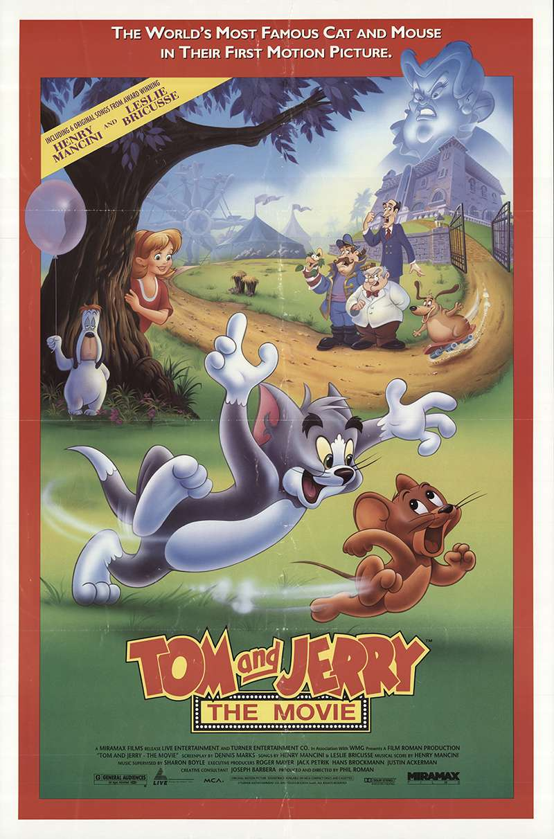 Tom and Jerry: The Movie kapak