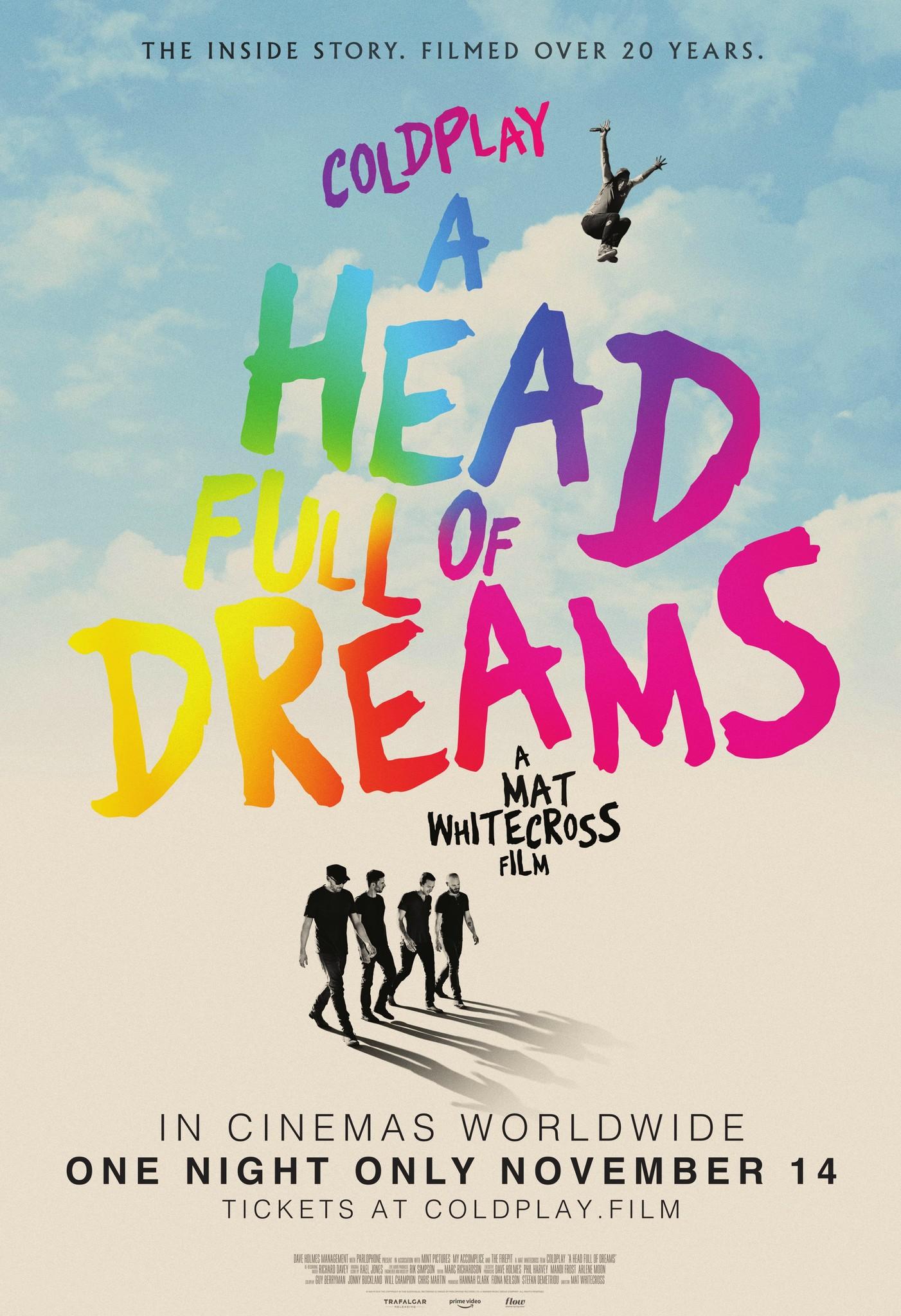 Coldplay: A Head Full of Dreams kapak
