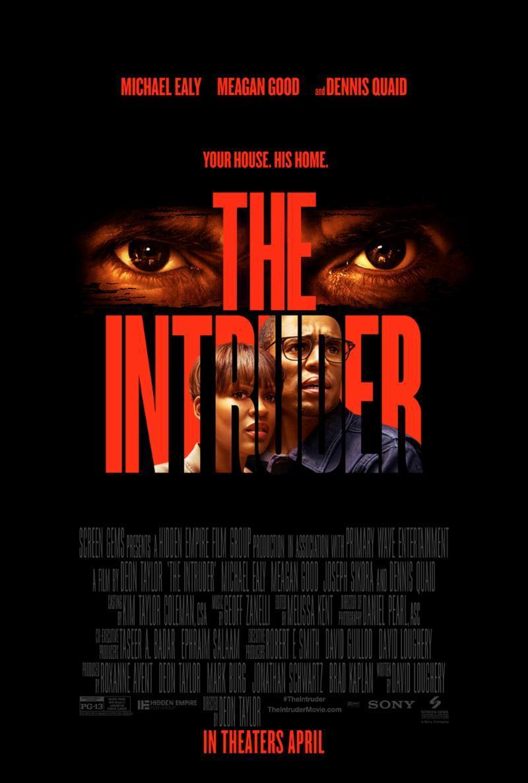 The Intruder kapak
