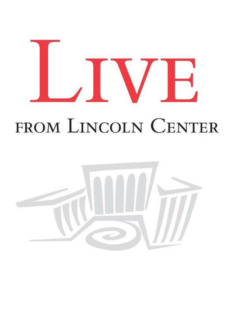 Live from Lincoln Center kapak