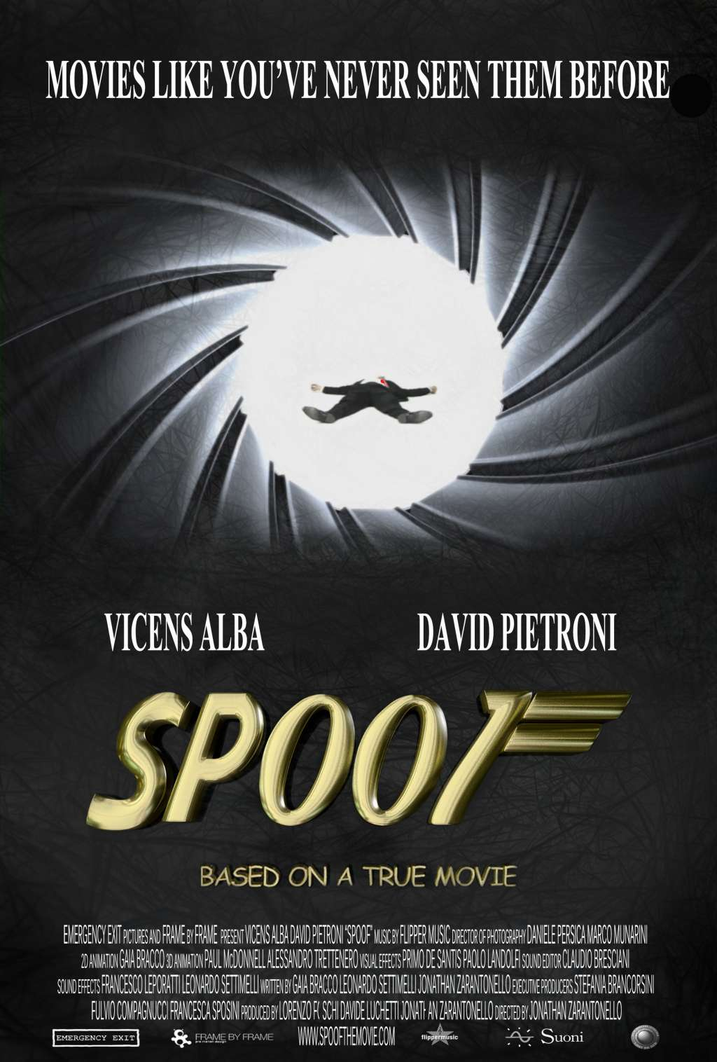 Spoof: Based on a True Movie kapak