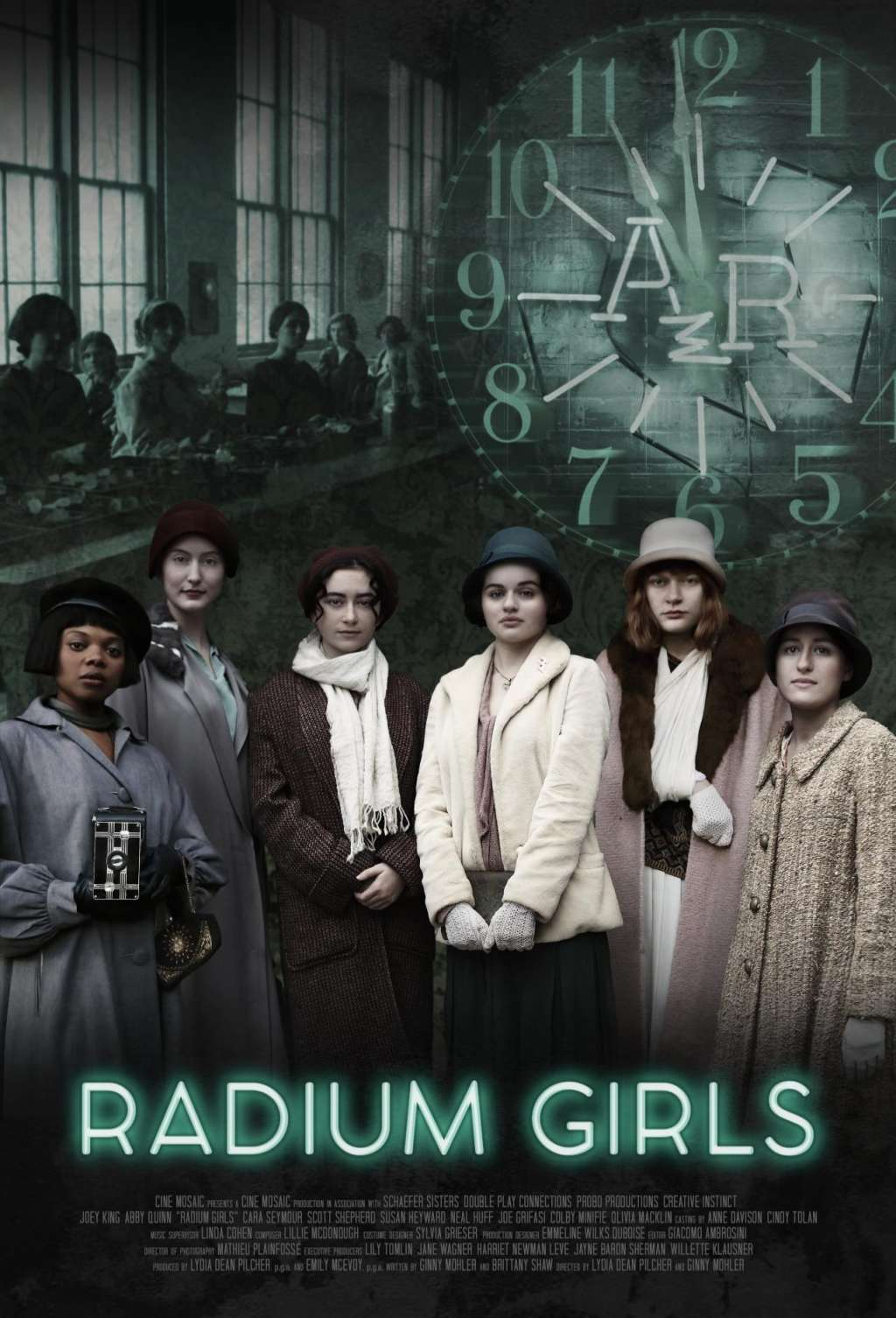 Radium Girls kapak