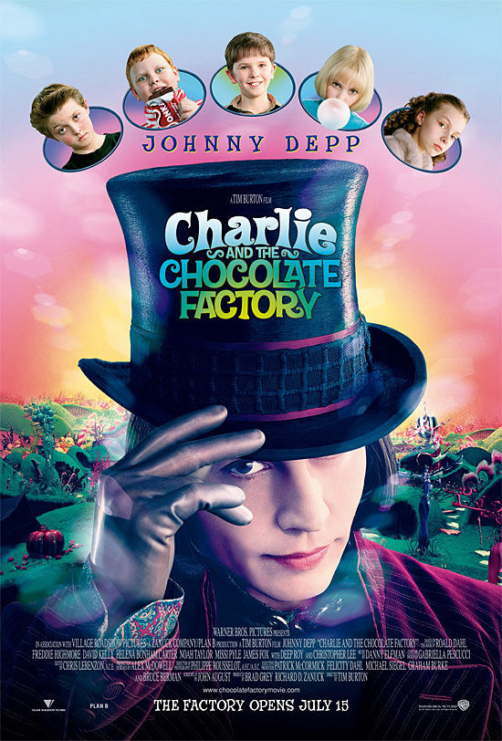 Charlie and the Chocolate Factory kapak