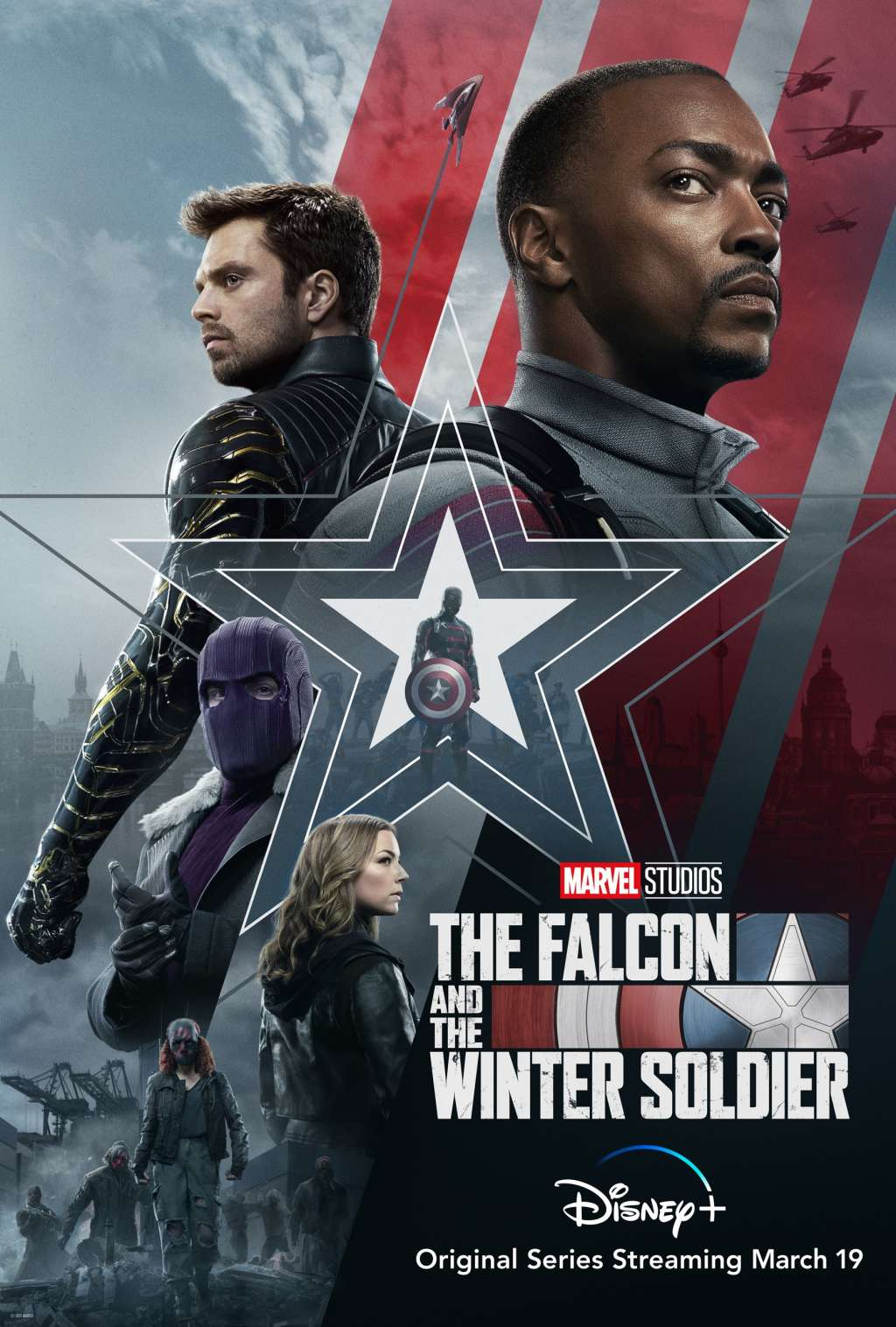 The Falcon and the Winter Soldier kapak