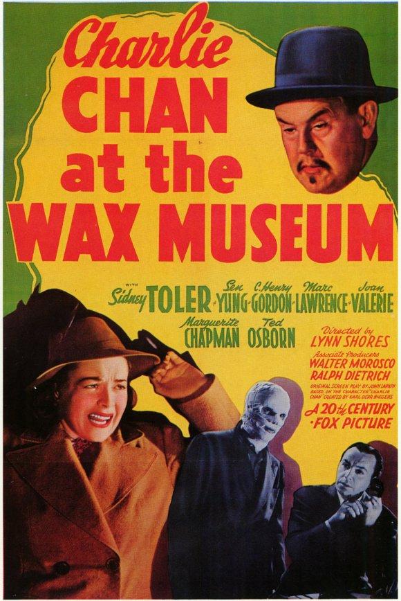 Charlie Chan at the Wax Museum kapak