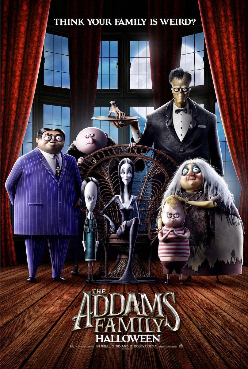 The Addams Family kapak
