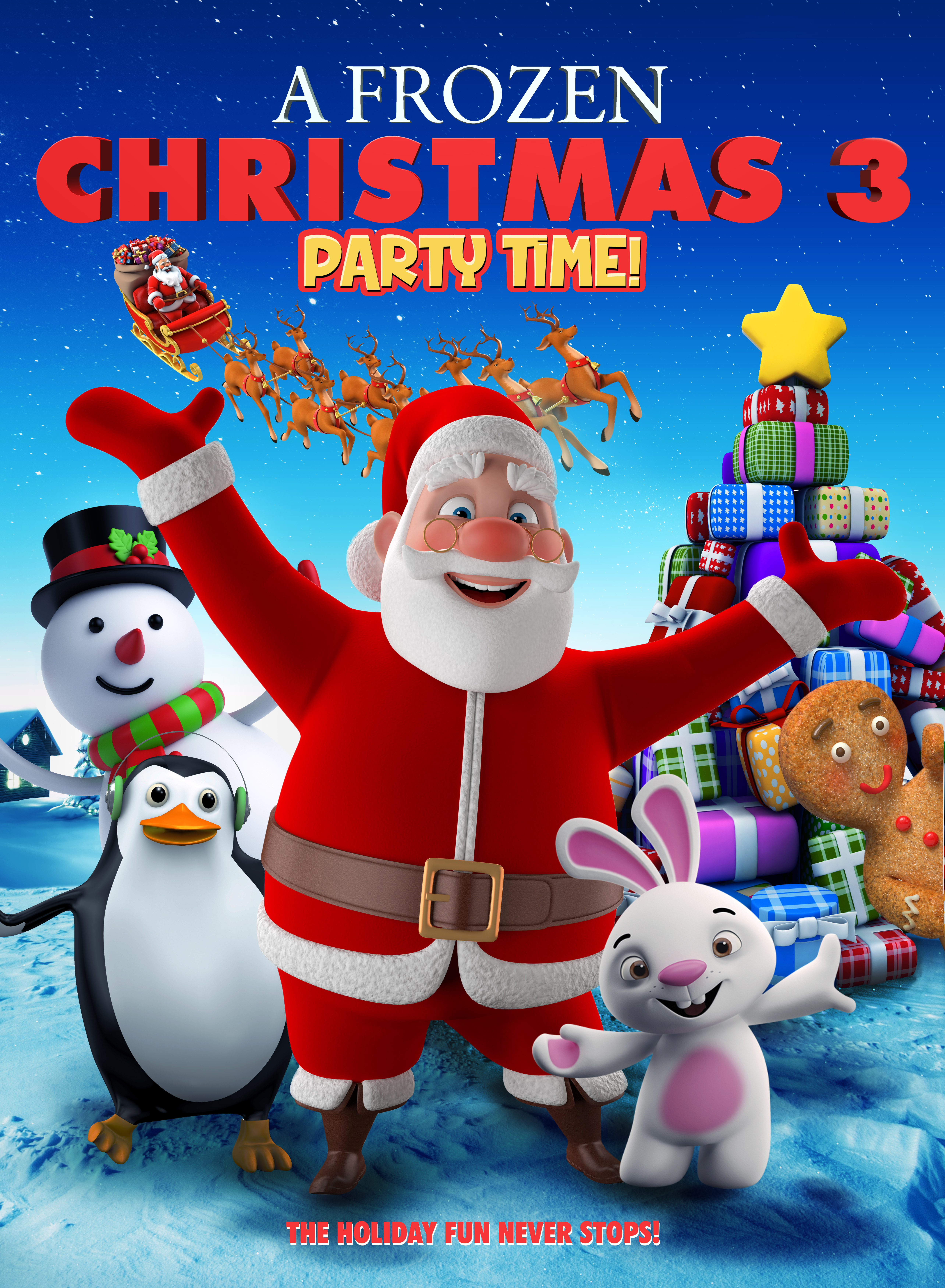 A Frozen Christmas 3 kapak