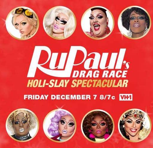RuPaul's Drag Race Holi-Slay Spectacular kapak