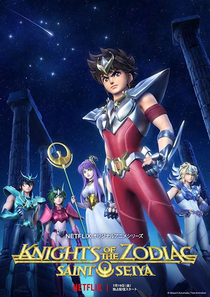 Seinto Seiya: Knights of the Zodiac kapak