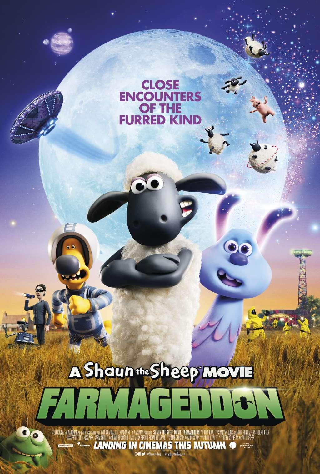 A Shaun the Sheep Movie: Farmageddon kapak