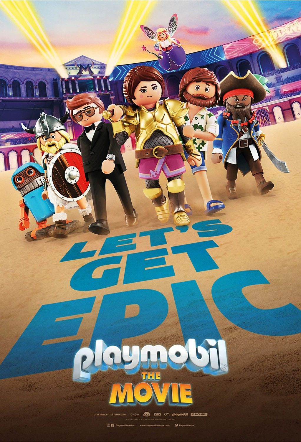 Playmobil: The Movie kapak