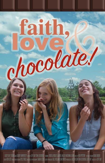 Faith, Love & Chocolate kapak