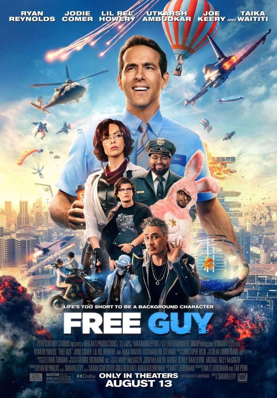 Free Guy kapak
