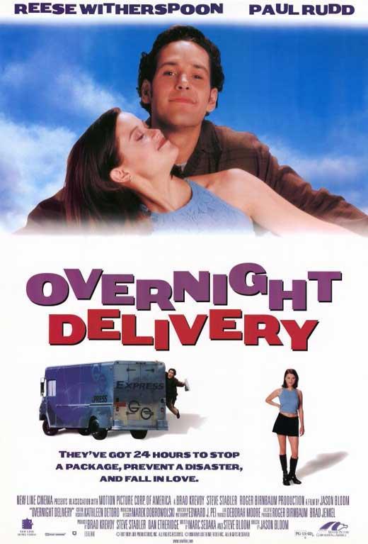 Overnight Delivery kapak