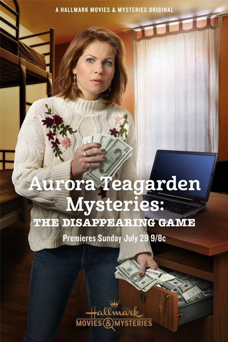 Aurora Teagarden Mysteries: The Disappearing Game kapak