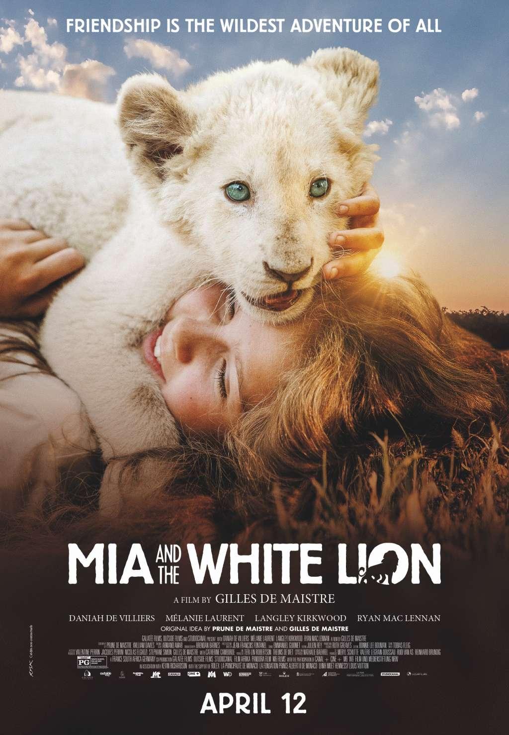 Mia and the White Lion kapak