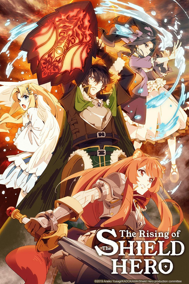 The Rising of the Shield Hero kapak