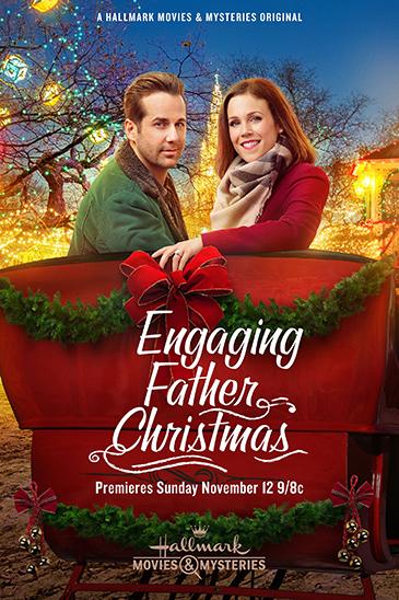 Engaging Father Christmas kapak