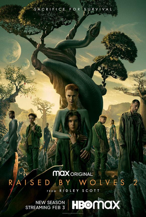 Raised by Wolves kapak