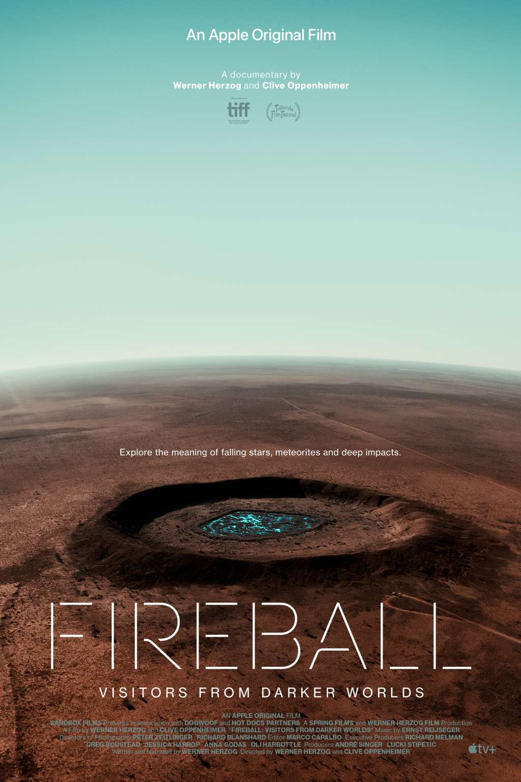 Fireball: Visitors from Darker Worlds kapak