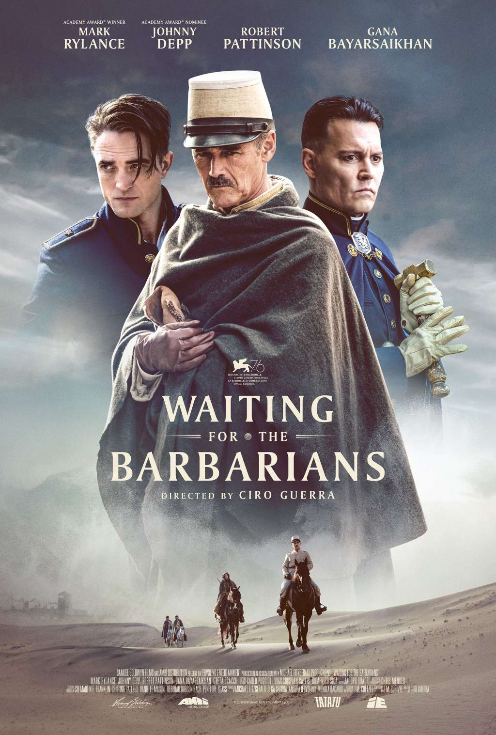 Waiting for the Barbarians kapak