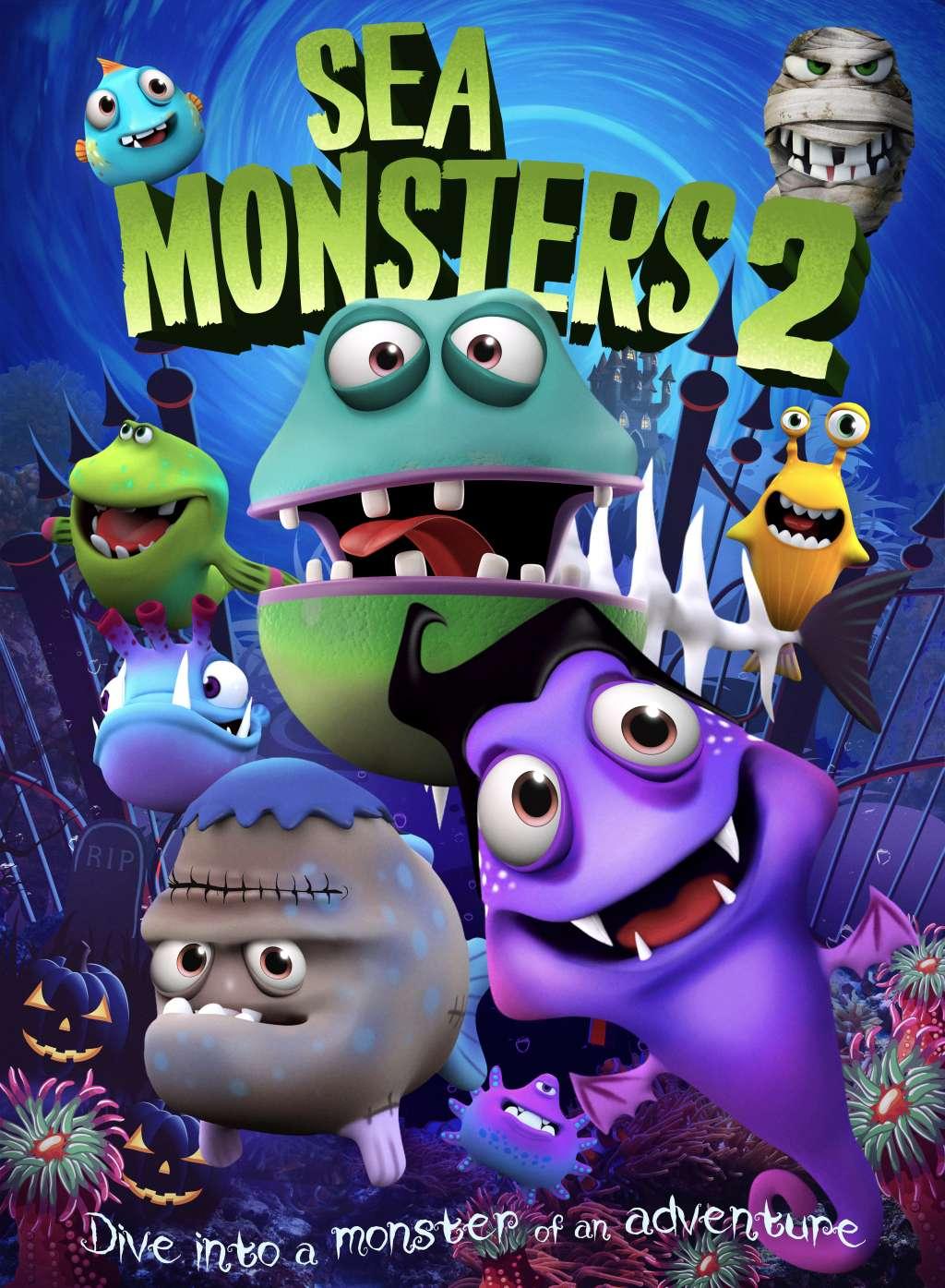 Sea Monsters 2 kapak