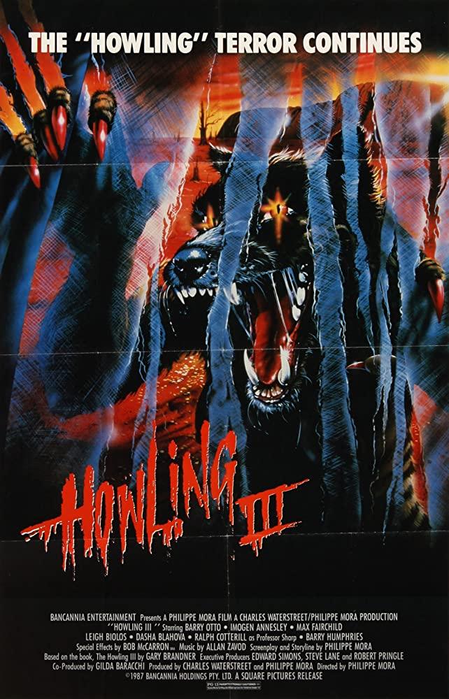 Howling III kapak