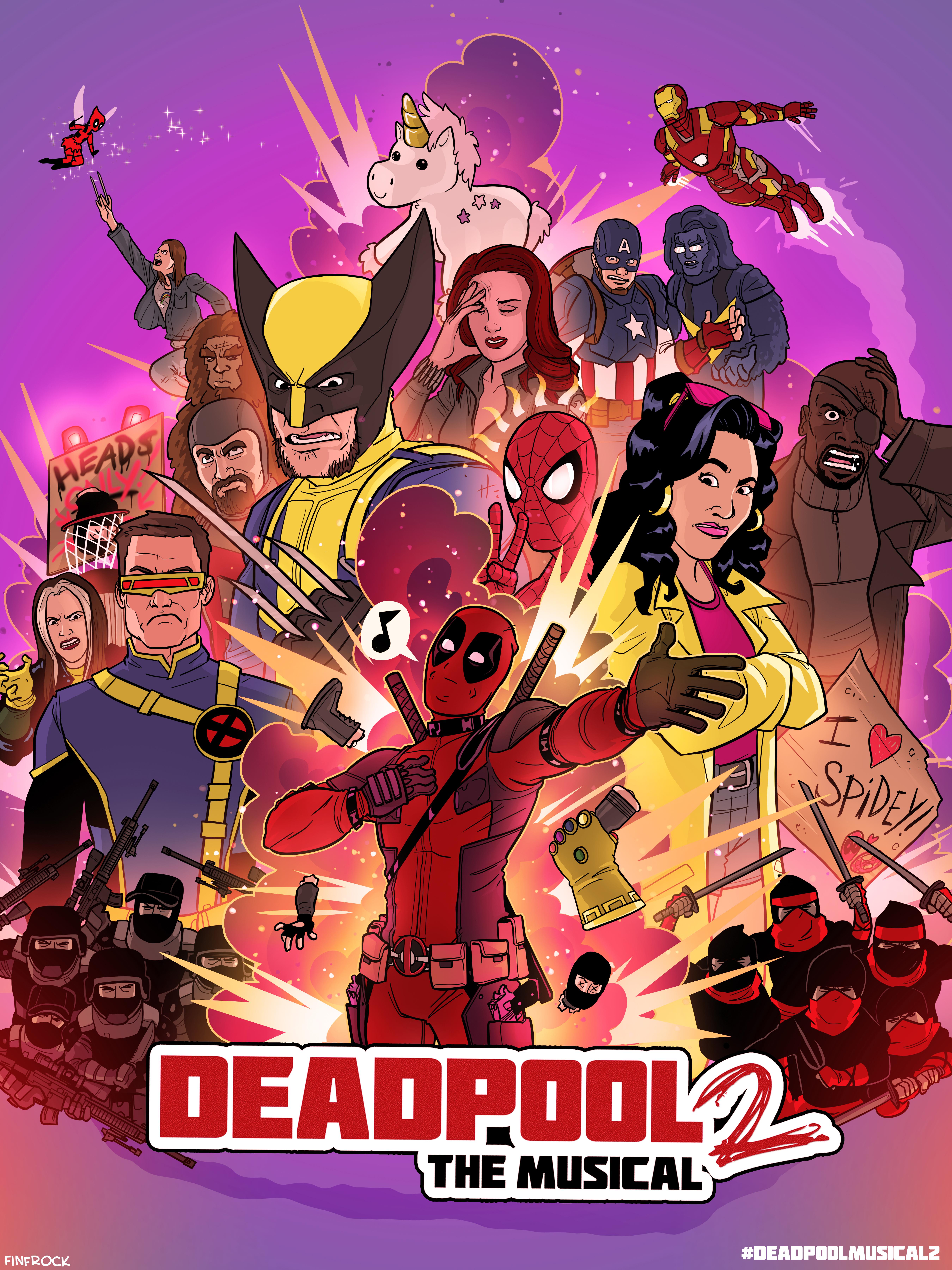 Deadpool The Musical 2 - Ultimate Disney Parody kapak