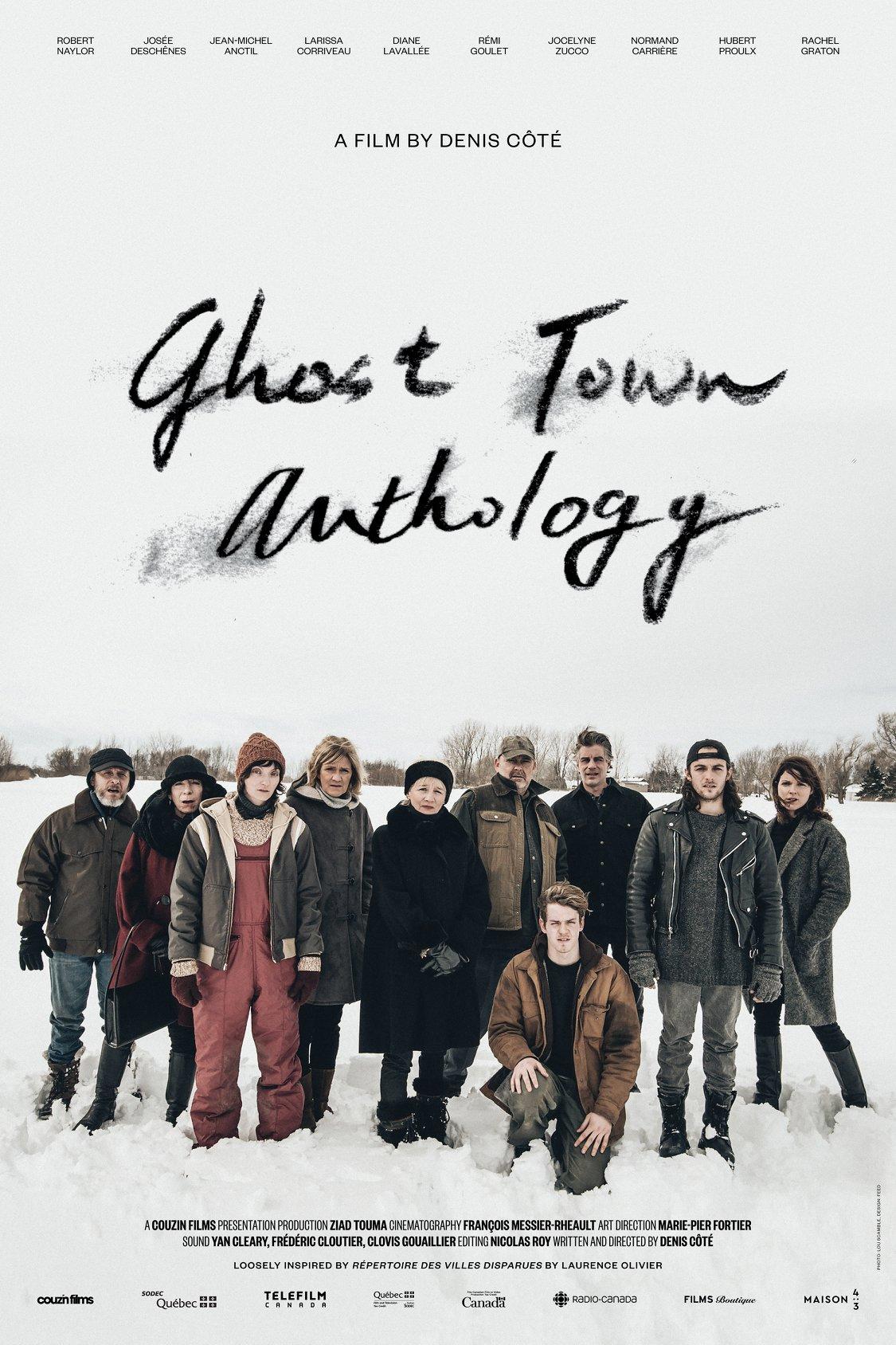 Ghost Town Anthology kapak