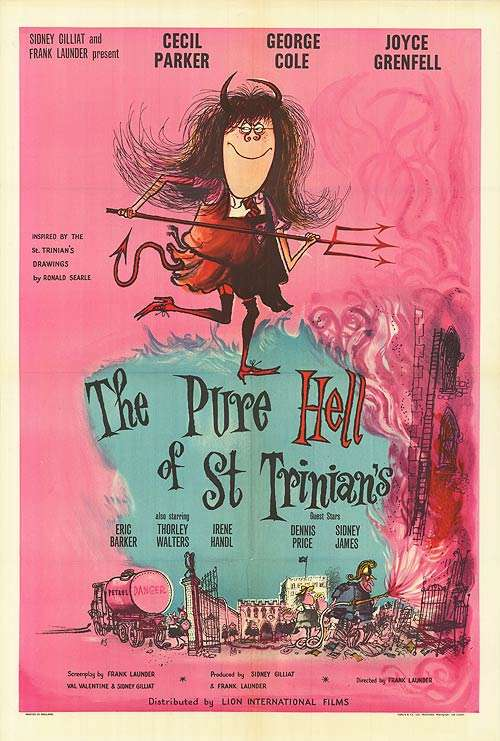 The Pure Hell of St. Trinian's kapak