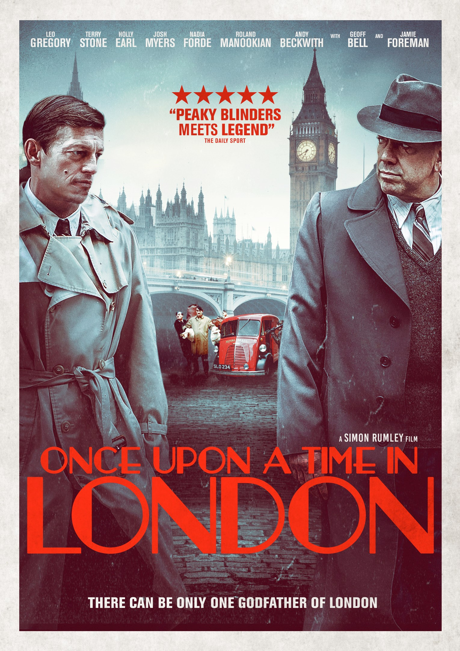 Once Upon a Time in London kapak