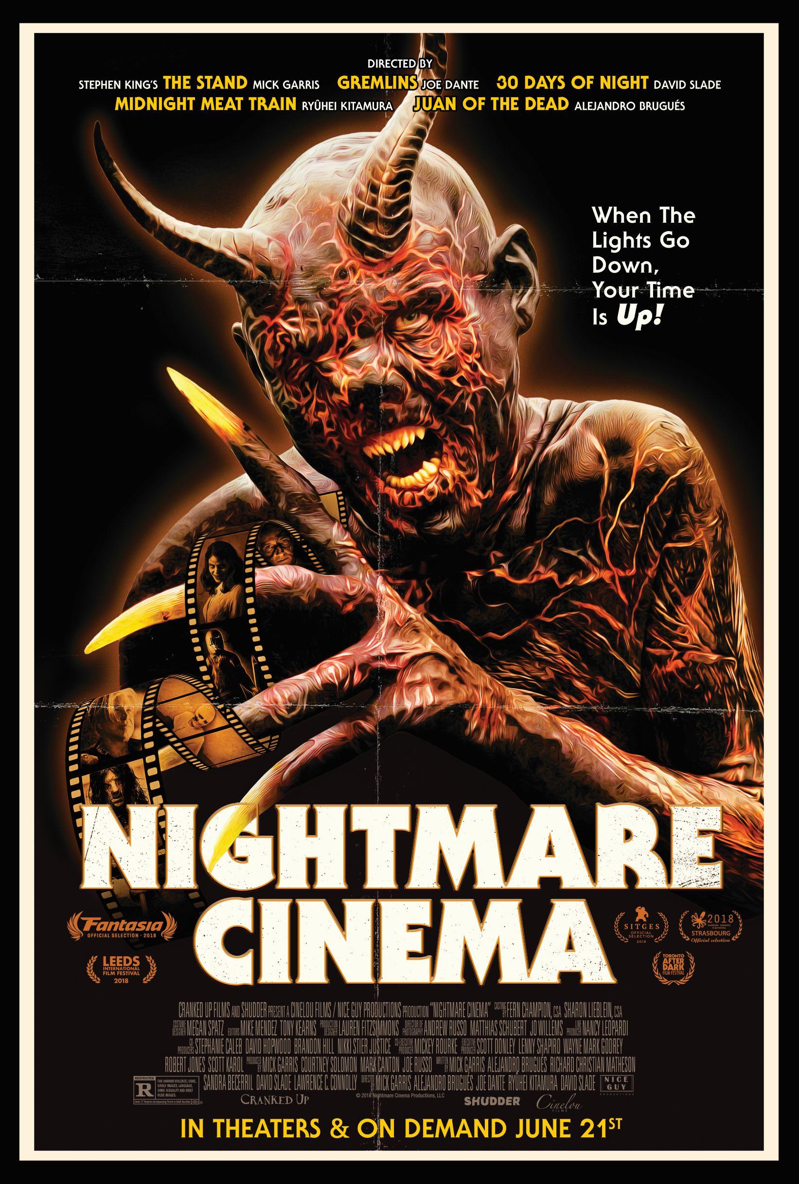 Nightmare Cinema kapak