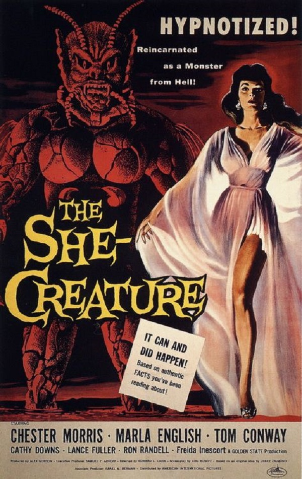 The She-Creature kapak