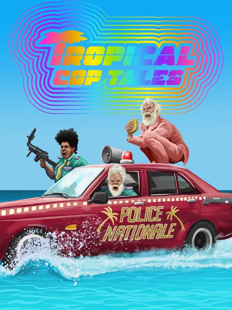 Tropical Cop Tales kapak