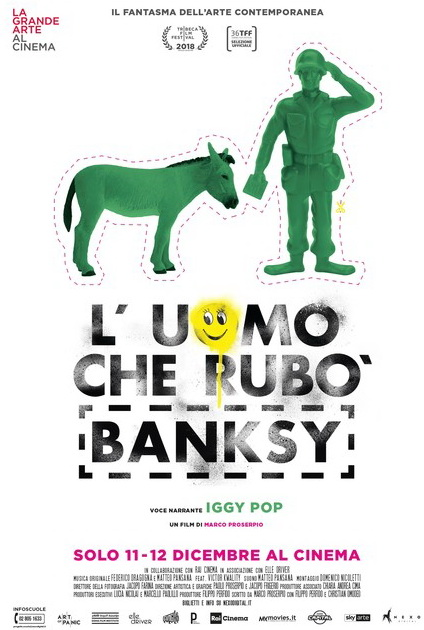 The Man Who Stole Banksy kapak