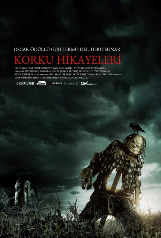 Scary Stories to Tell in the Dark kapak