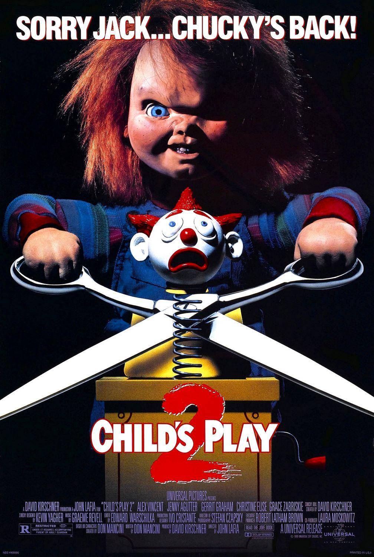 Child's Play 2 kapak