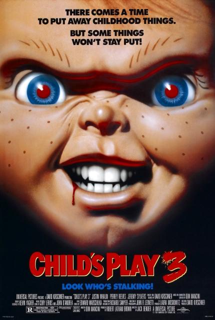 Child's Play 3 kapak