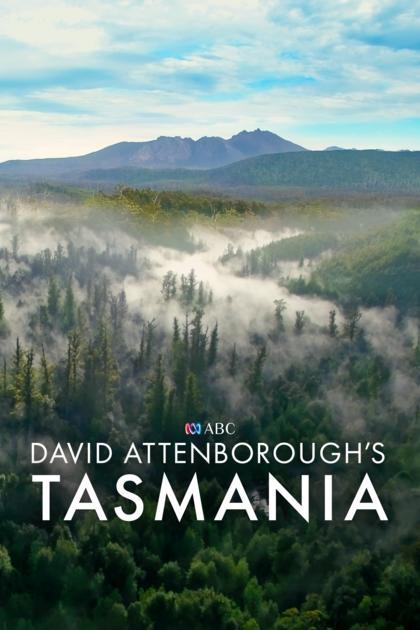 David Attenborough's Tasmania kapak
