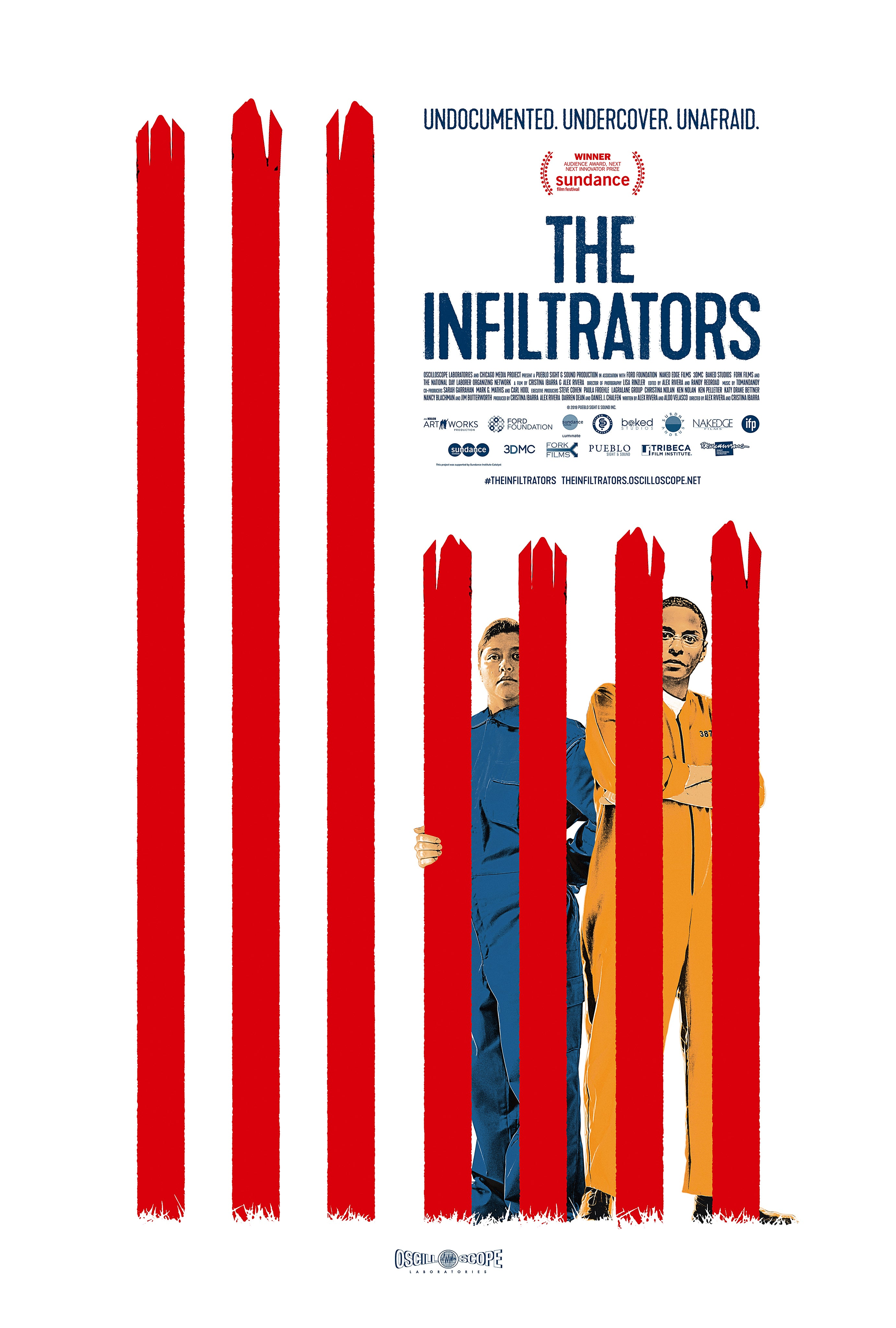 The Infiltrators kapak