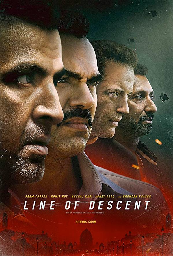 Line of Descent kapak