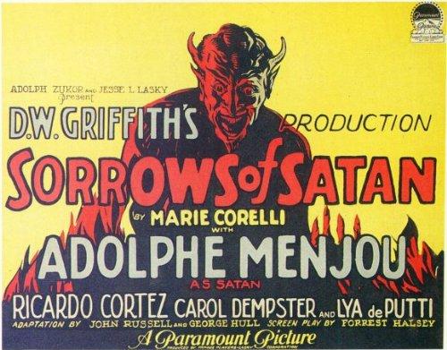The Sorrows of Satan kapak
