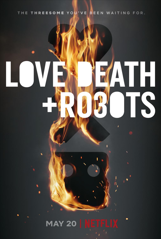 Love, Death & Robots kapak
