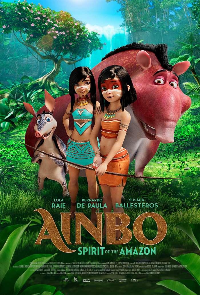AINBO: Spirit of the Amazon kapak
