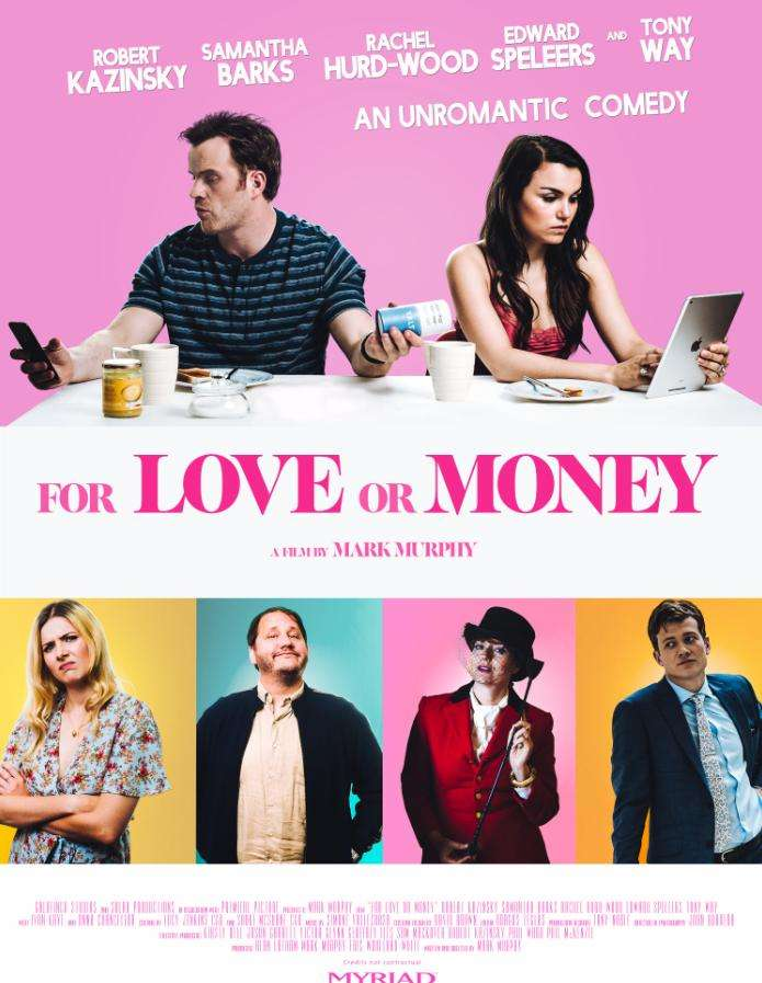 For Love or Money kapak