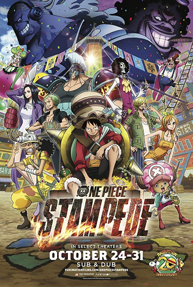 One Piece: Stampede kapak